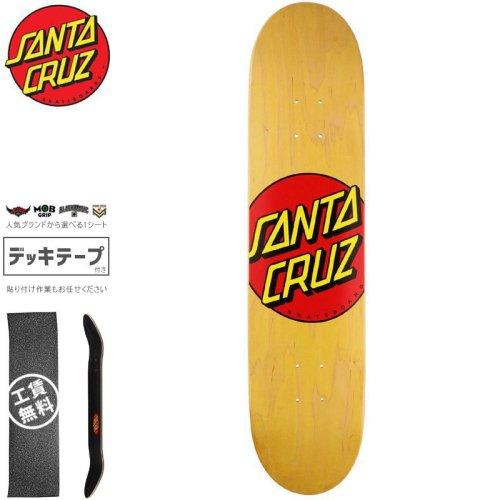 【サンタクルーズ SANTA CRUZ スケートボード デッキ】CLASSIC DOT DECK【7.75インチ】クラシック ロゴ NO172