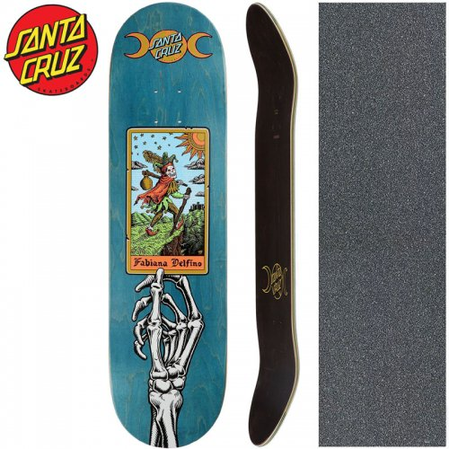 【サンタクルーズ SANTA CRUZ スケートボード デッキ】DELFINO TAROT POWERPLY DECK【8.25インチ】NO173