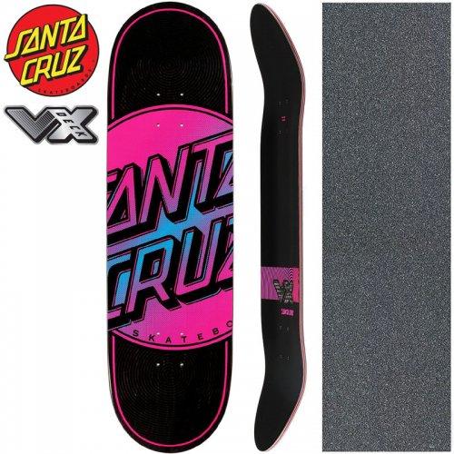 【サンタクルーズ SANTA CRUZ スケートボード デッキ】TOTAL DOT VX DECK【8.8インチ】高反発 NO175