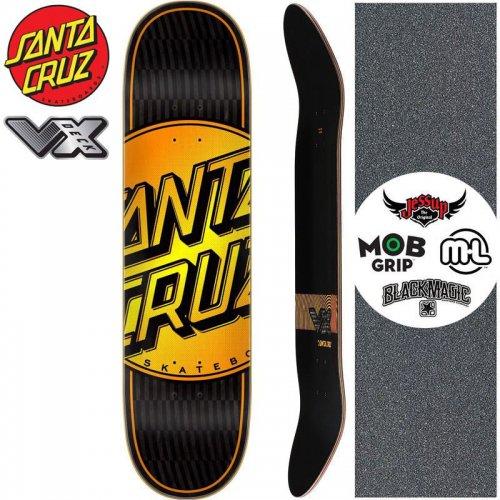 【サンタクルーズ SANTA CRUZ スケートボード デッキ】TOTAL DOT VX DECK【8.0インチ】高反発 NO176