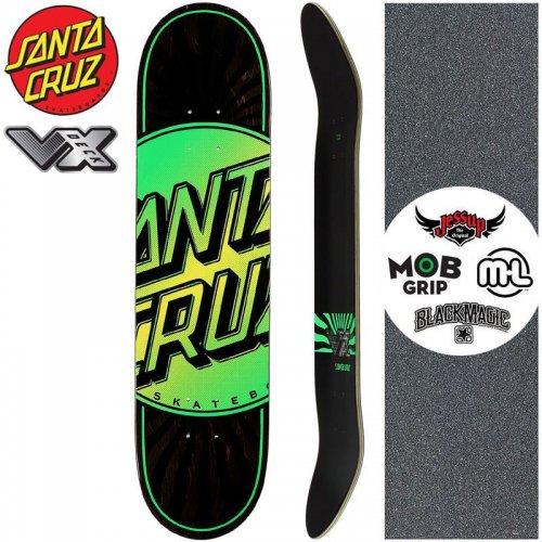 【サンタクルーズ SANTA CRUZ スケートボード デッキ】TOTAL DOT VX DECK【7.75インチ】高反発 NO177