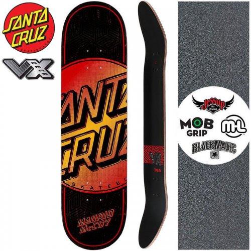 【サンタクルーズ SANTA CRUZ スケートボード デッキ】TOTAL DOT VX DECK【8.25インチ】高反発 NO178