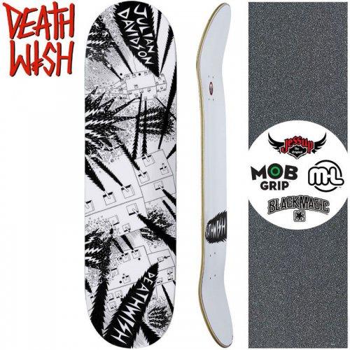 【デスウィッシュ DEATH WISH スケートボードデッキ】DAVIDSON DEATH WAR 3000 DECK【8.0インチ】NO133