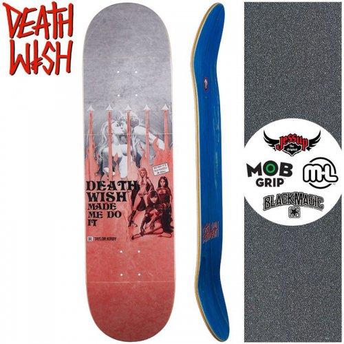 【デスウィッシュ DEATH WISH スケートボードデッキ】KIRBY DW MADE ME DO IT DECK【8.25インチ】NO135