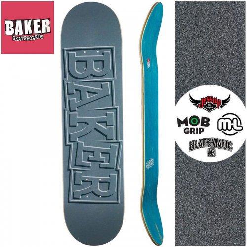 【ベーカー BAKER スケートボード デッキ】REYNOLDS RIBBON GREY DECK【7.875インチ】NO289