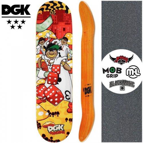 【ディージーケー DGK スケートボード デッキ】GHETTO LAND FAGUNDES DECK【8.0インチ】NO342
