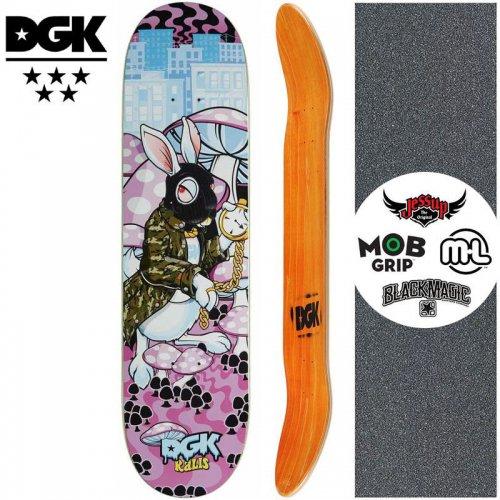 【ディージーケー DGK スケートボード デッキ】GHETTO LAND KALIS DECK【8.06インチ】NO343