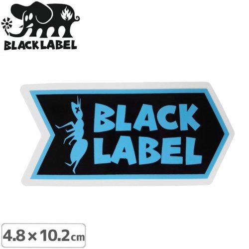 【BLACK LABEL ブラックレーベル ステッカー】ANT LOGO STICKER【4.8 x 10.2cm】ブルー NO69