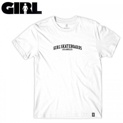 【ガール GIRLSKATEBOARD スケボー Tシャツ】STEAM TEE【ホワイト】NO310
