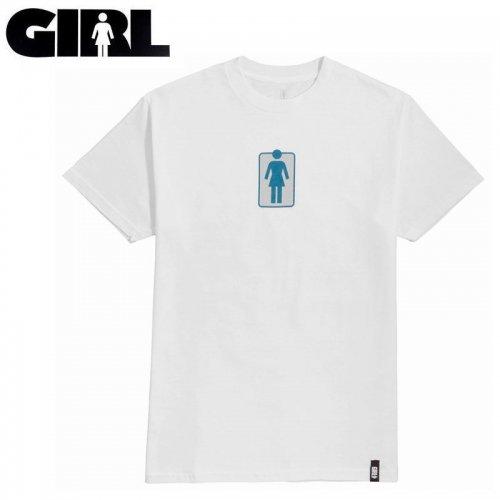 【ガール GIRLSKATEBOARD スケボー Tシャツ】UNBOXED TEE【ホワイト】NO311