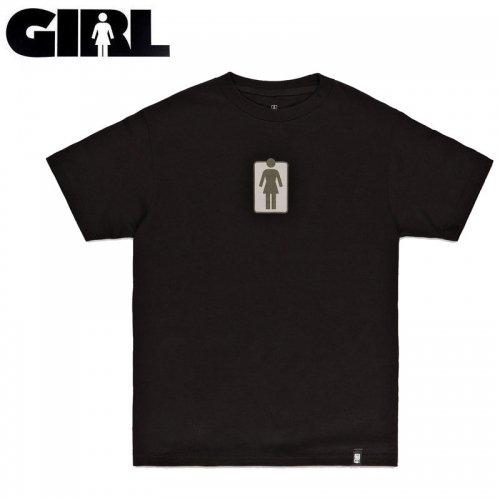 【ガール GIRLSKATEBOARD スケボー Tシャツ】UNBOXED TEE【ブラック】NO312