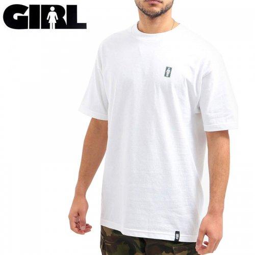 【ガール GIRLSKATEBOARD スケボー Tシャツ】POSTAL OG TEE【ホワイト】NO313
