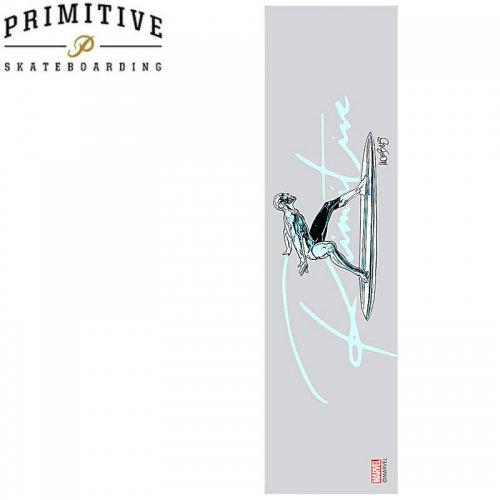 【PRIMITIVE プリミティブ スケボー デッキテープ】SILVER SURFER PRINTED GRIP TAPE【9x33】NO11