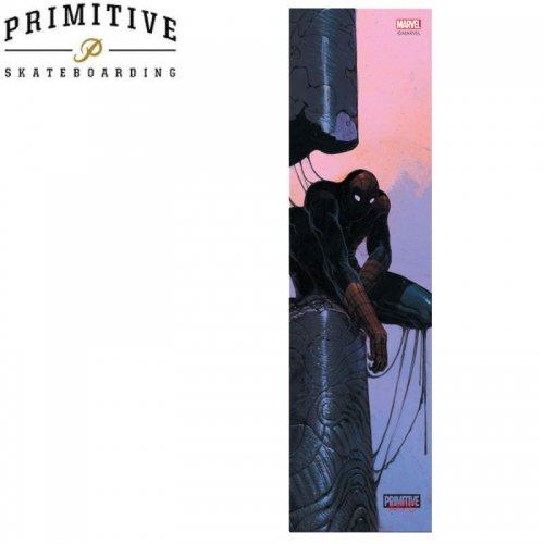 【PRIMITIVE プリミティブ スケボー デッキテープ】SPIDERMAN PRINTED GRIP TAPE【9x33】NO12