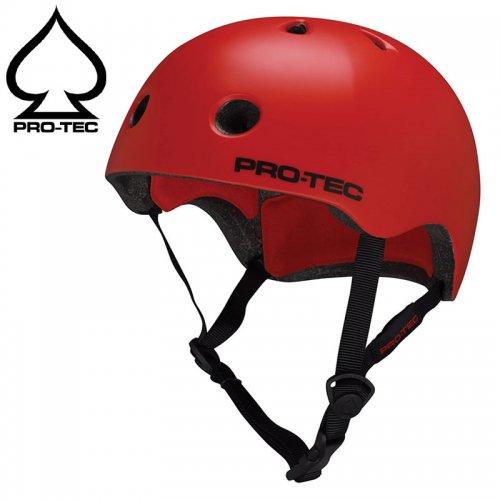 【PRO-TEC プロテック スケボー ヘルメット】STREET LIFE CPSC HELMET レッド NO1
