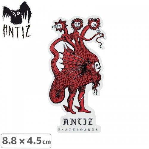 【ANTIZ アンティス スケートボード ステッカー】DRAGON STICKER【8.8cm×4.5cm】NO2