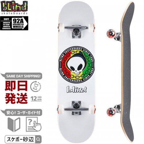 【ブラインド BLIND スケートボード コンプリート】RASTA REAPER COMPLETE 92A【8.125インチ】NO136