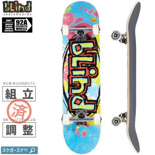 【ブラインド BLIND スケートボード コンプリート】OG OVAL PREMIUM COMPLETE 92A【7.625インチ】NO137