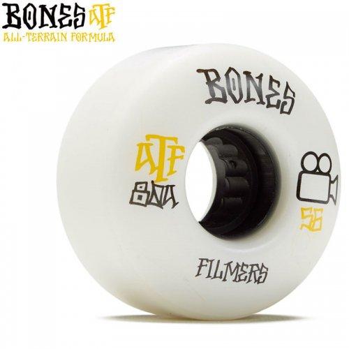 【ボーンズ BONES スケボー ソフトウィール】ATF FILMERS 80A WHEELS【56mm】NO241