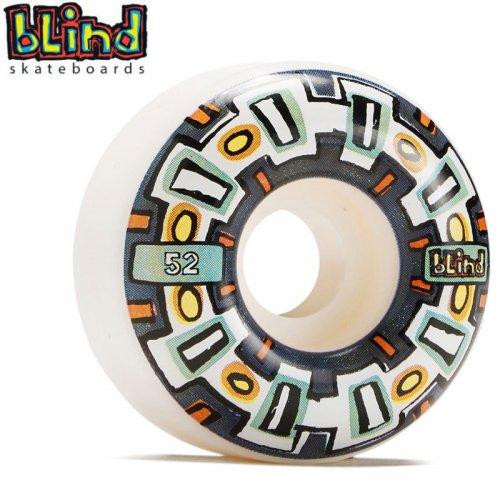 【ブラインド BLIND スケボー ウィール】ROUND SPACE V2 WHEELS ホワイト【52mm】NO35