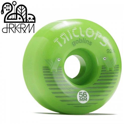 【DARKROOM ダークルーム スケボー ウィール】TRICLOPS GOBLIN 92A WHEELS【56mm】NO3
