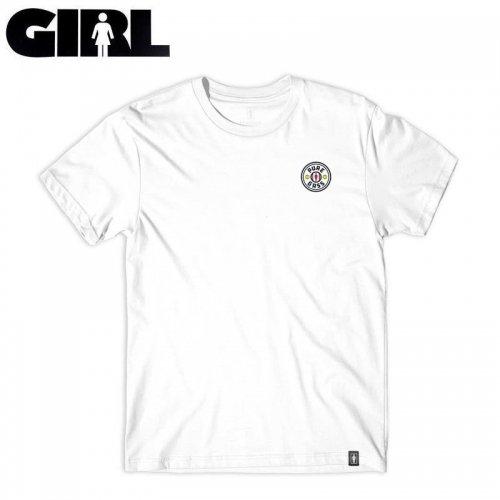 【ガール GIRLSKATEBOARD スケボー Tシャツ】PURE GASS TEE【ホワイト】NO317