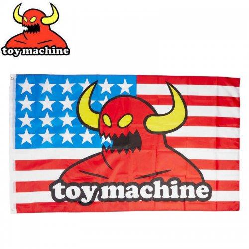【トイマシーン TOY MACHINE スケボー スケートボード 旗】AMERICAN MONSTER FLAG マルチ BANNER 91cm×152cm NO1