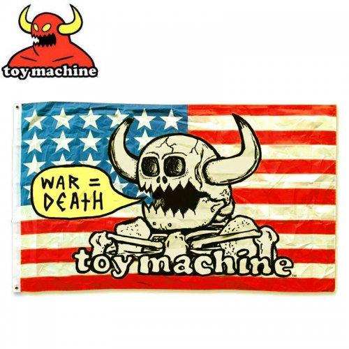 【トイマシーン TOY MACHINE スケボー スケートボード 旗】WAR=DEATH FLAG マルチ BANNER 91cm×152cm NO2