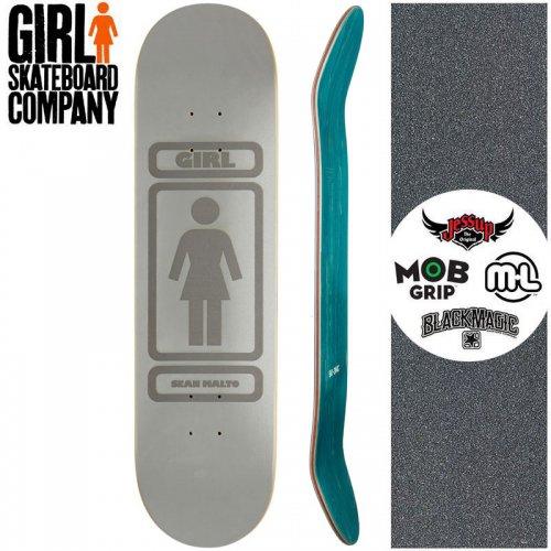 【ガール GIRL スケートボード デッキ】MALTO 90 3MC REFLECTIVE DECK【8.0インチ】NO264