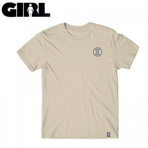 【ガール GIRLSKATEBOARD スケボー Tシャツ】PURE GASS TEE【サンド】NO318