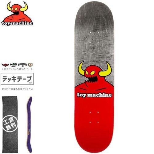 【トイマシーン TOY MACHINE デッキ】MONSTER DECK【7.75インチ】ブラック NO246