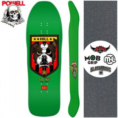 【パウエル POWELL スケートボード デッキ】FRANKIE HILL BULLDOG DECK【10インチ】オールドスクール NO83