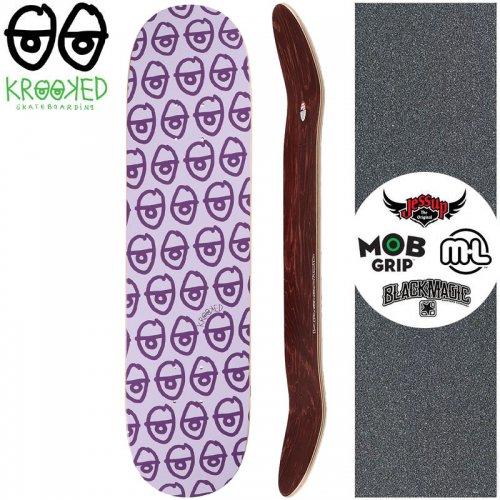 【クルックド KROOKED スケートボード デッキ】PEWPILS PP DECK【7.75インチ】NO127