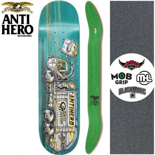 【ANTI HERO アンタイヒーロー スケートボード デッキ】TAYLOR CURBSIDE【8.25インチ】ティール NO143