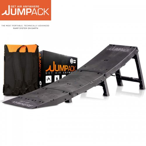 【JUMPACK ジャンパック スケボー ランプ】PRO 3 KICKER バッグ収納式 ジャンプランプ セクション【137cm】NO1