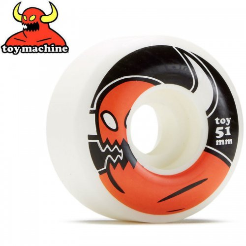 【トイマシン TOY MACHINE ウィール】MONSTER WHEEL 100A【51mm】NO50