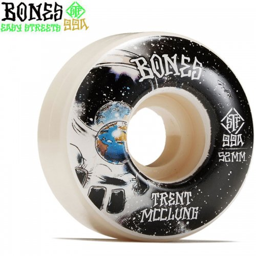 【ボーンズ BONES スケボーウィール】STF MCCLUNG UNKNOWN V1 STANDARD 99A WHEELS【52mm】NO242
