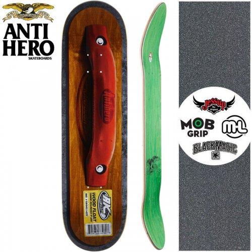 【ANTI HERO アンタイヒーロー スケートボード デッキ】KANFOUSH FLOATS DECK【8.38インチ】NO145