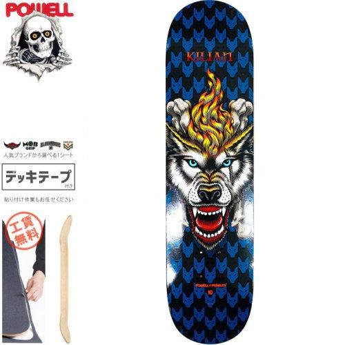 【パウエル POWELL スケートボード デッキ】KILIAN WOLF DECK【8.0インチ】NO92