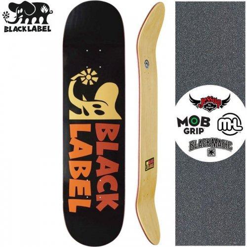 【ブラックレーベル BLACK LABEL スケートボード デッキ】ELEPHANT SECTOR YELLOW DECK【8.0インチ】NO100
