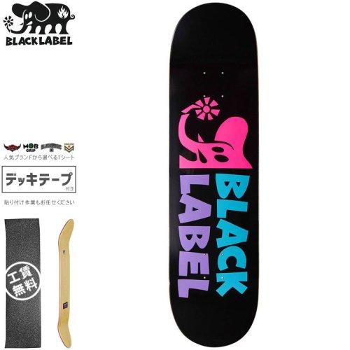 【ブラックレーベル BLACK LABEL スケートボード デッキ】ELEPHANT SECTOR PINK DECK【8.25インチ】NO101