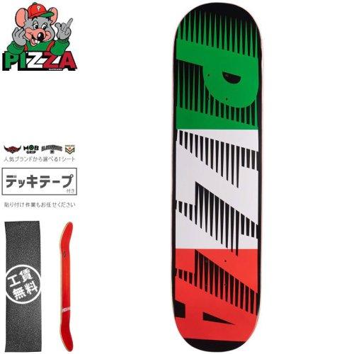 【PIZZA SKATEBOARDS ピザ スケートボード デッキ】SPEEDY BLACK DECK【8.0インチ】NO17