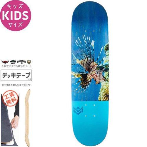【MINI-LOGO ミニロゴ スケボー キッズ デッキ】POISON LION FISH MINI DECK【7.5インチ】NO1