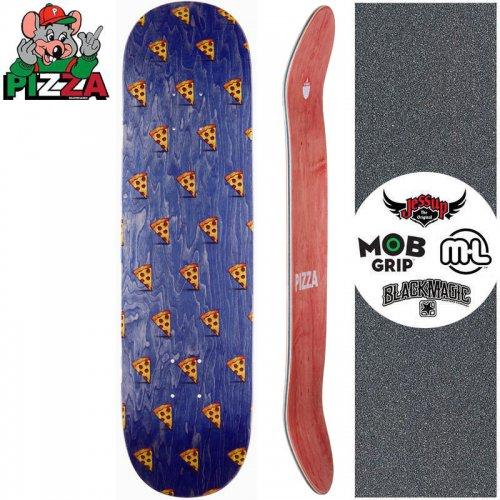【PIZZA SKATEBOARDS ピザ スケートボード デッキ】EMOJI PATTERN DECK ネイビー【8.0インチ】【8.25インチ】NO26