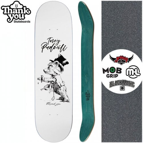 【THANK YOU SKATEBOARDS サンキュー スケートボード デッキ】PUDWILL TIPSY BEAR DECK【8.0インチ】NO20