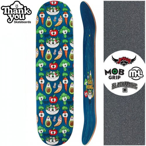 【THANK YOU SKATEBOARDS サンキュー スケートボード デッキ】PUDWILL HEALTH NUT DECK【7.75インチ】【8.0インチ】NO21