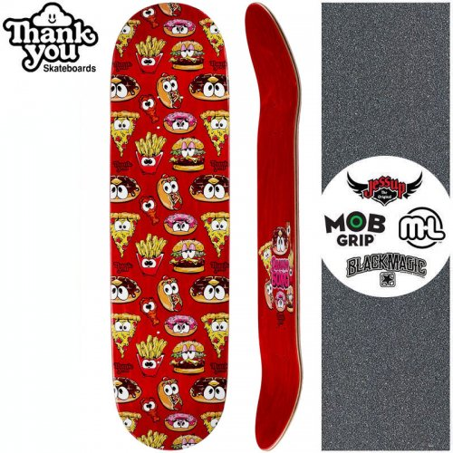 【THANK YOU SKATEBOARDS サンキュー スケートボード デッキ】SONG JUNK FOOD DECK【7.875インチ】NO22