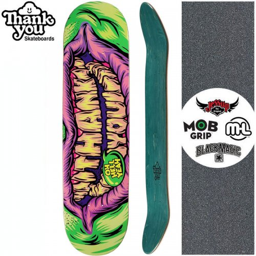 【THANK YOU SKATEBOARDS サンキュー スケートボード デッキ】SAY CHEESE DECK【7.75インチ】【8.0インチ】NO25