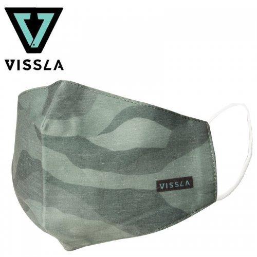 【ヴィスラ VISSLA 小物 マスク】CM2 MASK カモ2 NO5