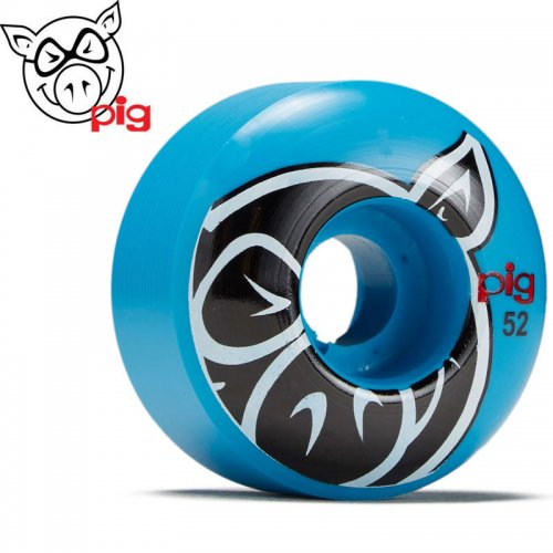 【ピッグ PIG WHEELS ウィール】PRO-LINE HEAD BLUE 101A【52mm】NO49